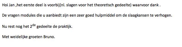 Referentie Theorie BM
