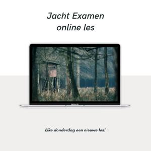 Jacht Examen Online Les